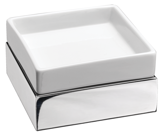 Stainless Steel Soap Dish / Tumbler Tray